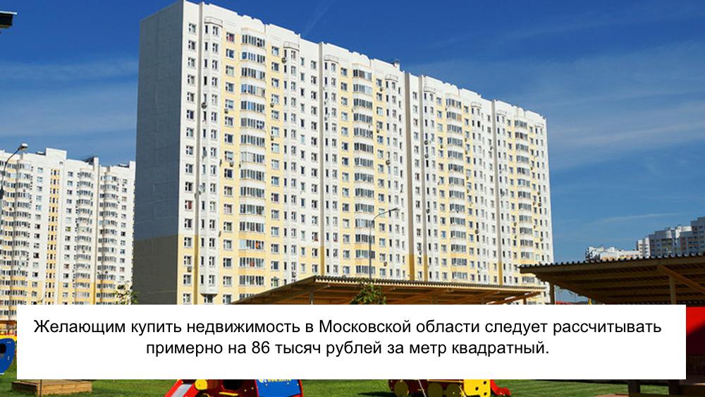Новостройка в Московской области: фото