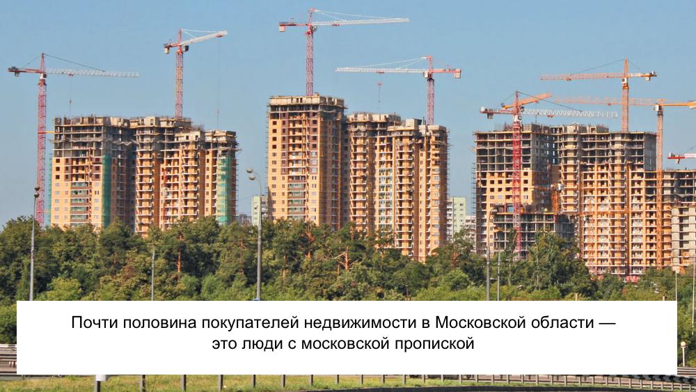 Строительство новых домов в Подмосковье: фото