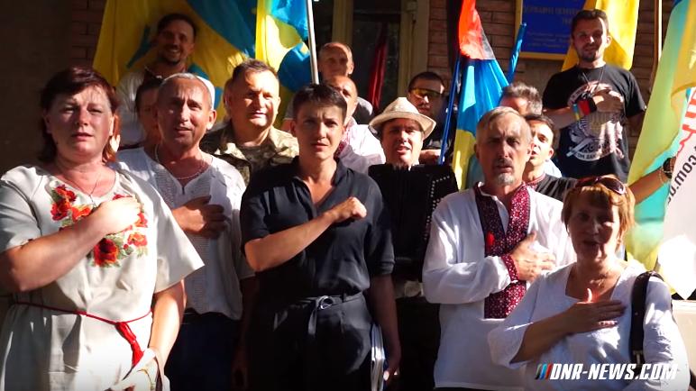Надежда Савченко проинспектировала СИЗО Артемовска, где содержатся бойцы нацбатальонов