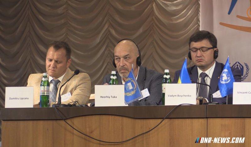 Тука анонсировал  возобновление пассажирского сообщения с ДНР и ЛНР
