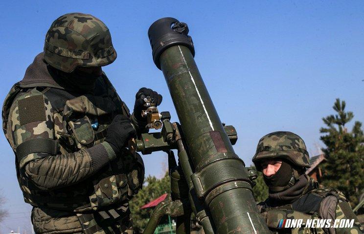 Украинские силовики дважды обстреляли окраины Ясиноватой