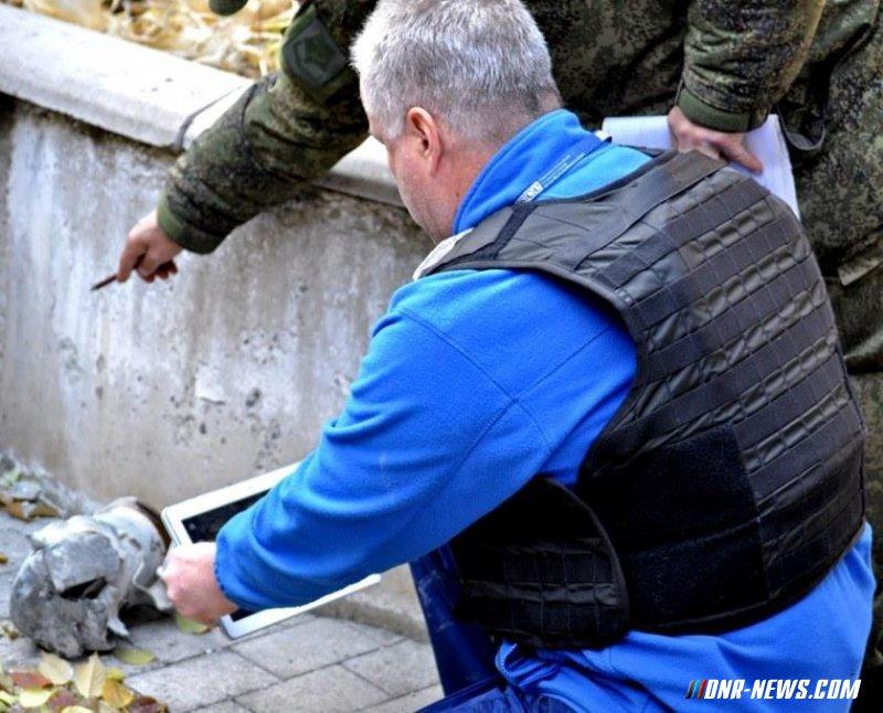 Наблюдатели миссии ОБСЕ присоединились к инспекции последствий обстрелов Макеевки