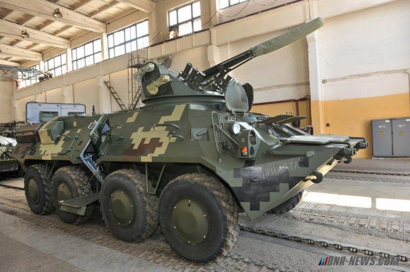 Украина намерена передать Таиланду технологии производства БТР-3Е1