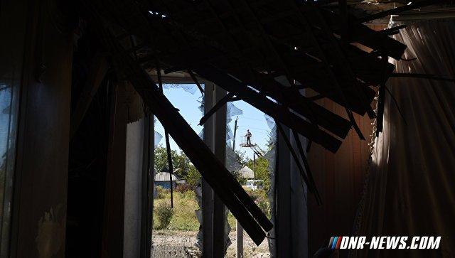 Обстрелами со стороны ВСУ в прифронтовых населенных пунктах ДНР повреждено 18 домов