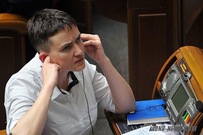 Надежда Савченко обвинила Россию в попытках развязать Третью мировую войну