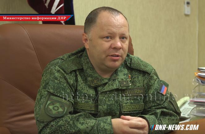 Интервью с министром обороны ДНР по поводу гибели Моторолы