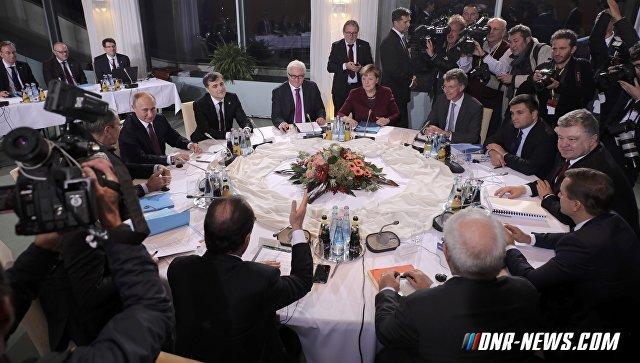 """""""Нормандский"""" саммит прописал Донбассу """"дорожную карту"""""""