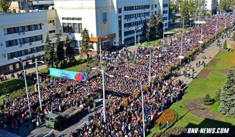 Республика прощается с Героем ДНР Арсеном Павловым. 19.10.16
