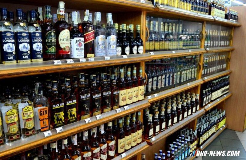 Парламент ДНР запретил продажу алкогольной продукции с 23:00 до 8:00