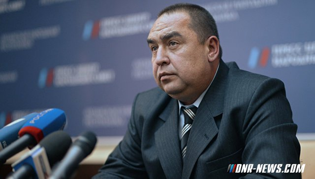 """Глава ЛНР заявил, что хотел бы приехать в Киев и """"навести там порядок"""""""