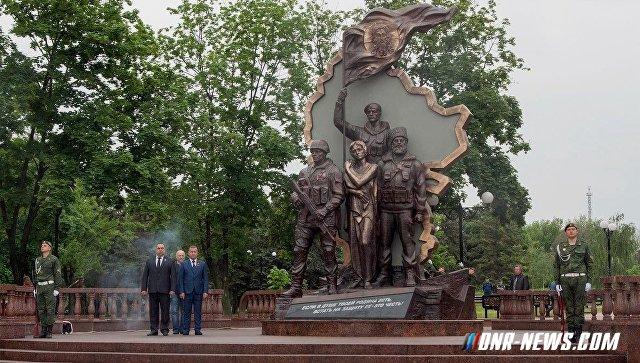 В ЛНР назвали исполнителей подрыва памятника погибшим ополченцам
