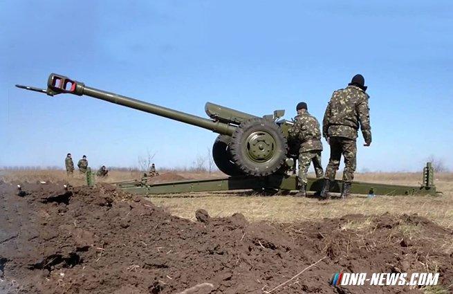 ВСУ с вечера выпустили 128 снарядов и мин по прифронтовым зонам ДНР