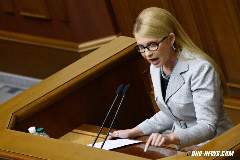 """Тимошенко: Никакой операции """"Шатун"""" не существует"""