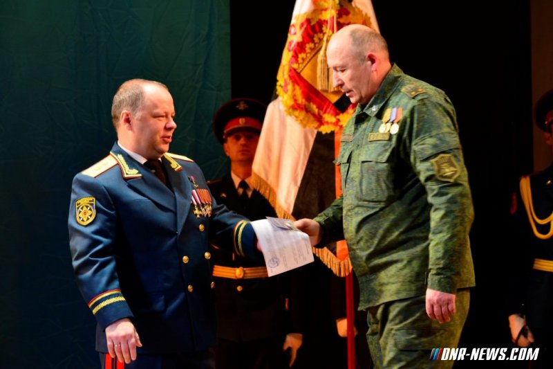 В Донецке отпраздновали вторую годовщину создания Первого армейского корпуса