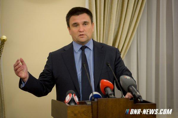 Климкин: Ракетные стрельбы необходимы для удовлетворения наших интересов