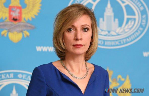 Мария Захарова объяснила, почему советник Порошенко злорадствует над крушением Ту-154