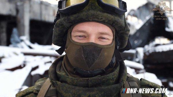 Новогоднее поздравление от военнослужащих ВС ДНР