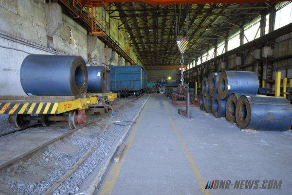 Объем реализации продукции металлургического комплекса ДНР в 2016 году превысил 51 млрд рублей