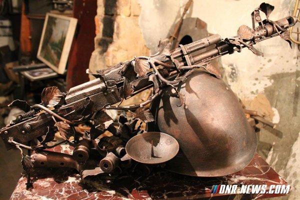 Донецкий кузнец весной представит на выставке в Госдуме РФ кованые фигуры из осколков снарядов