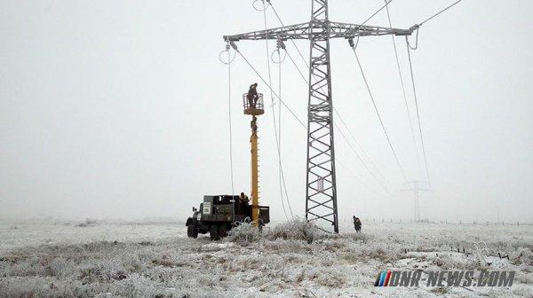 Шесть сел на юге ДНР остались без электроснабжения в результате обстрелов со стороны ВСУ