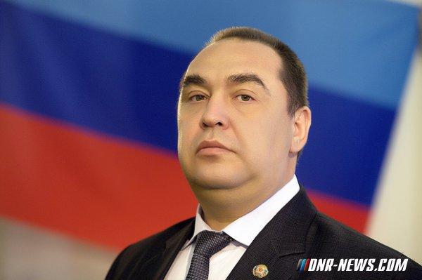 Обращение главы ЛНР Игоря Плотницкого к главе ДНР Александру Захарченко
