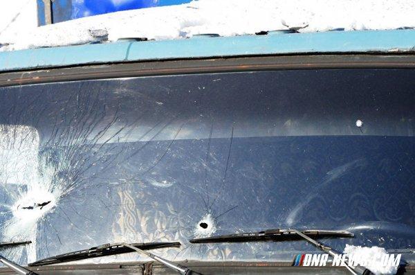 Движение в Ясиноватой ограничили из-за обострения ситуации на линии соприкосновения