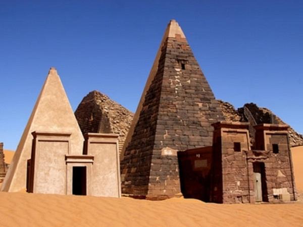 Суданские пирамиды - загадки Африки