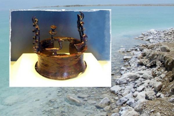 В Пещере у Мёртвого моря найдена самая древняя корона