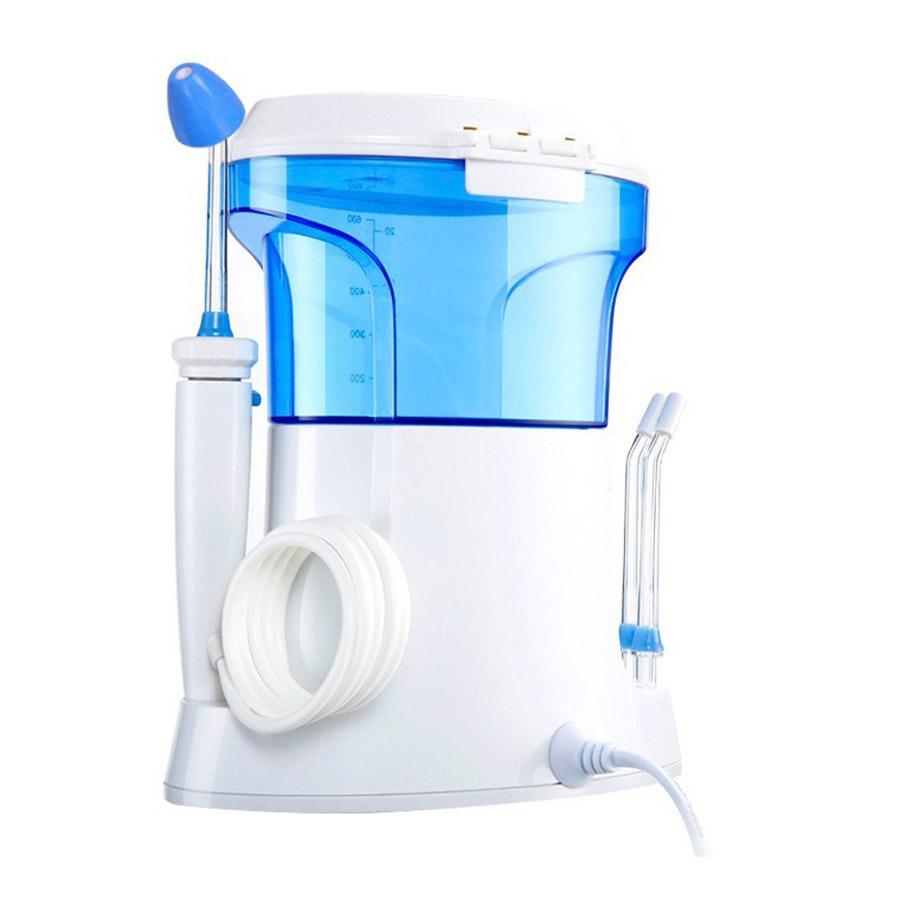 Как правильно чистить зубы ирригатором
