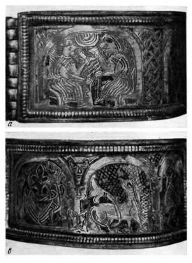 Браслет - заклинание льна и пряжи на браслете из городища (Галицкое княжество) XII-XII века.