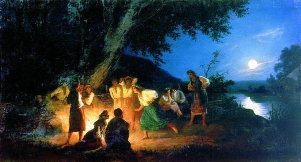 Г.И. Семирадский. Ночь накануне Ивана Купалы
