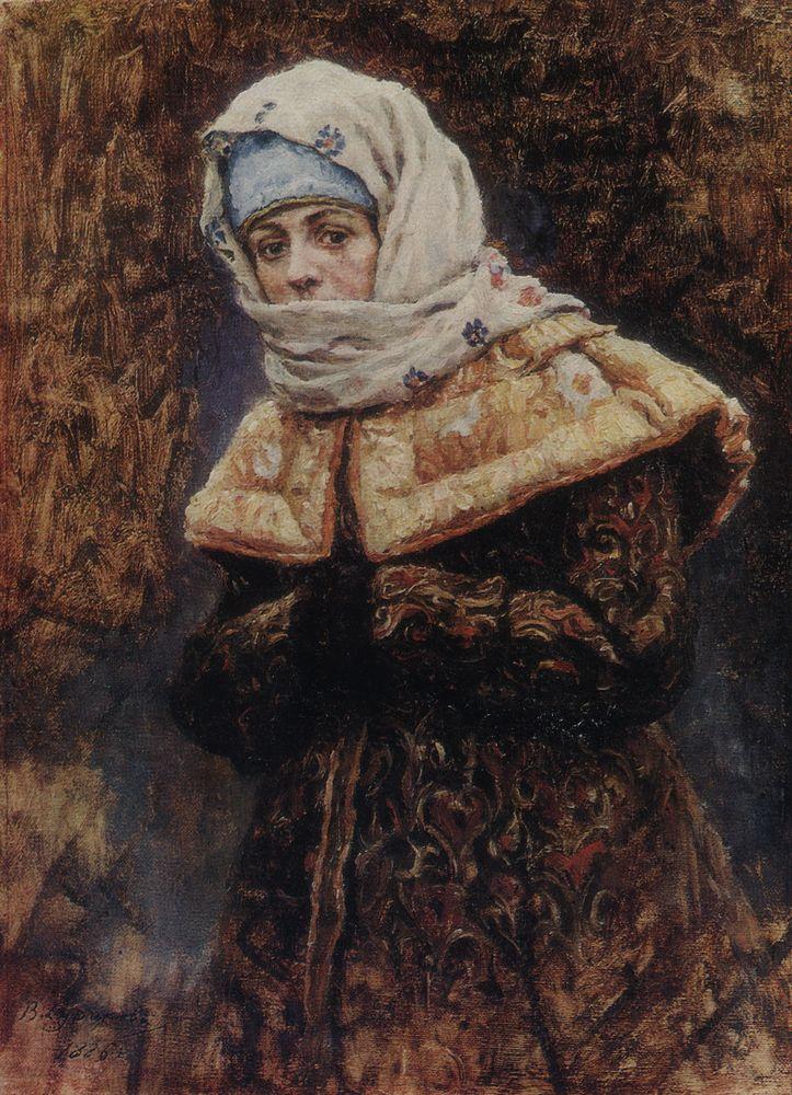 Боярышня. 1886