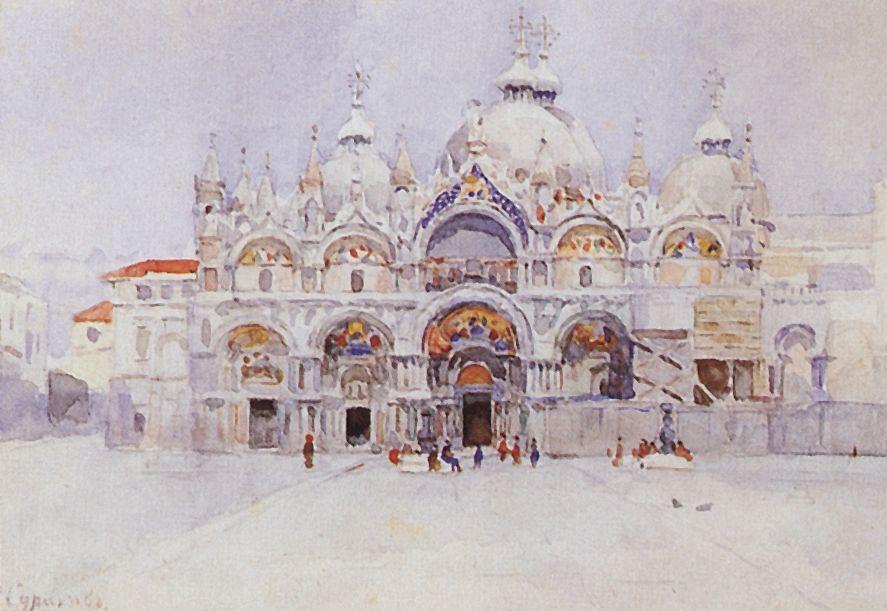 Венеция. Собор Св.Марка. 1884