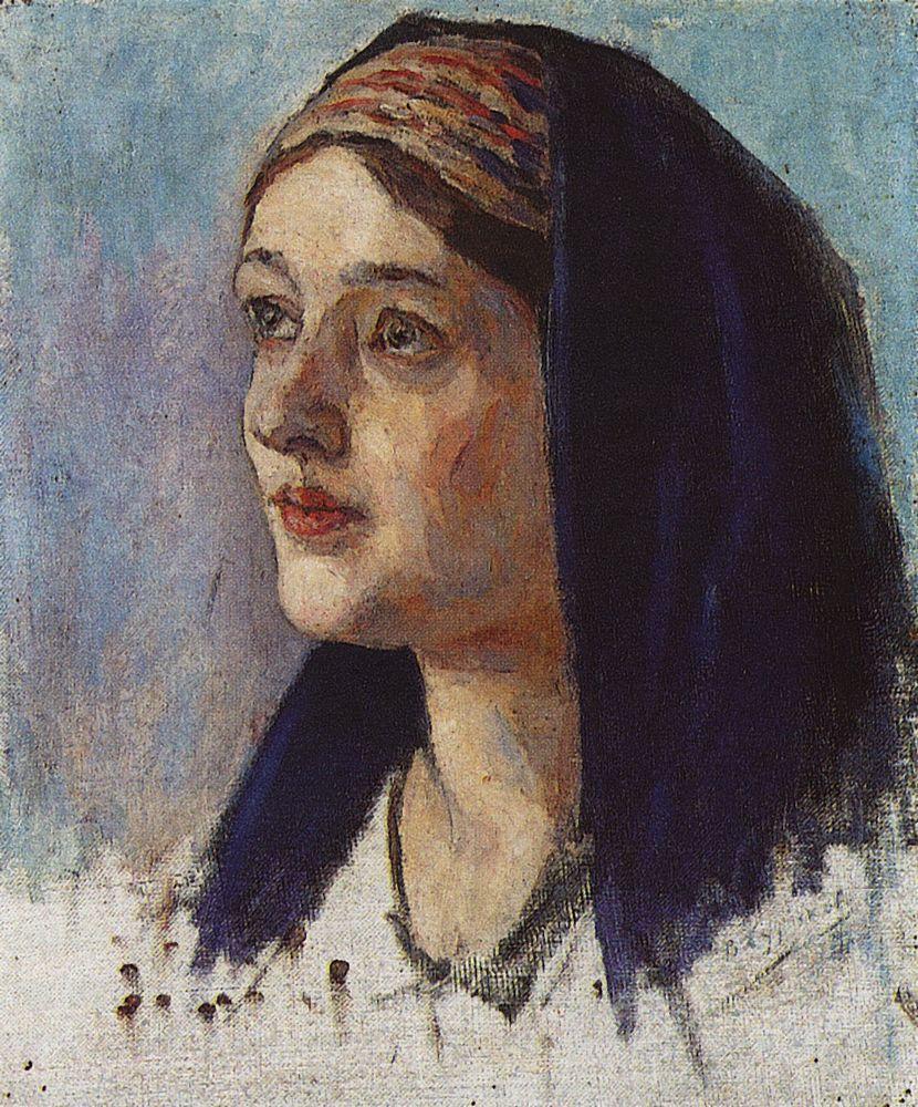 Голова Марии. 1913-1914