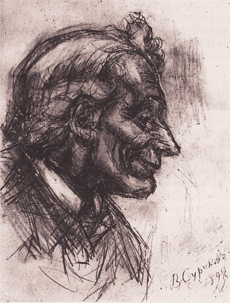 Голова Суворова. 1898