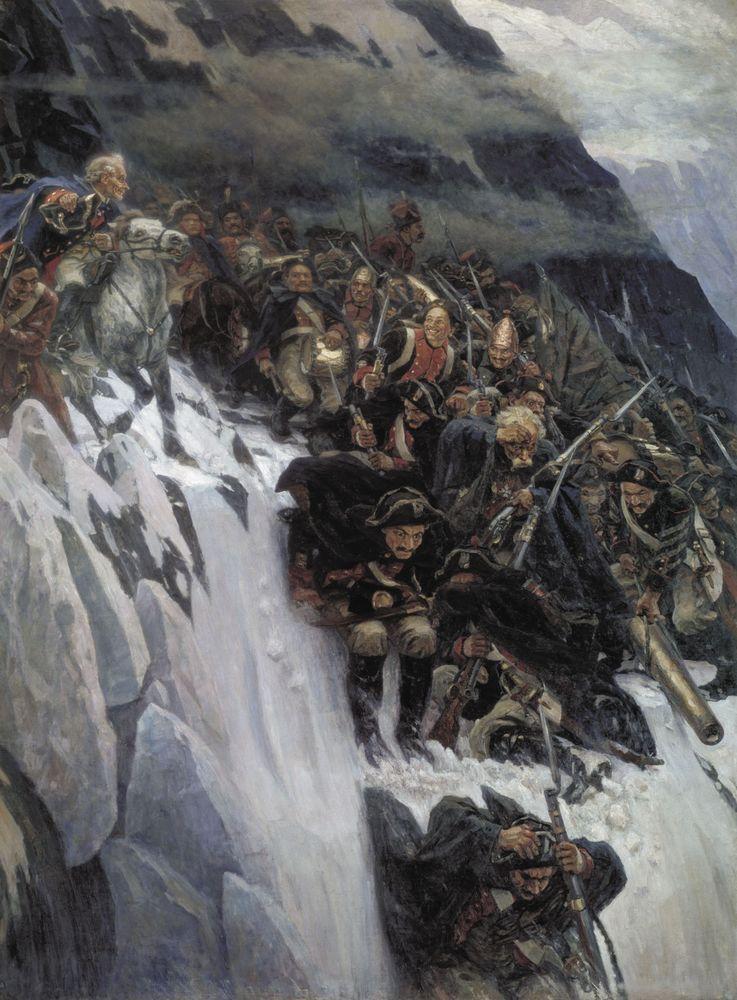 Переход Суворова через Альпы в 1799 году1. 1899