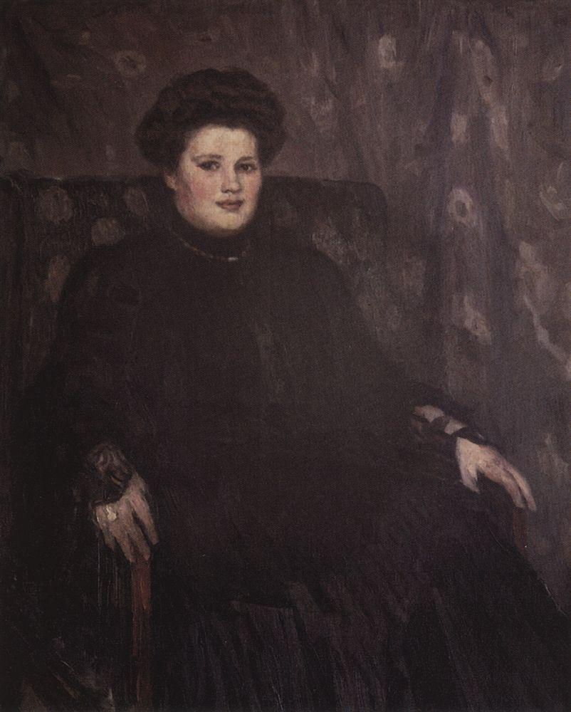 Портрет А.Н.Третьяковой. 1910-е