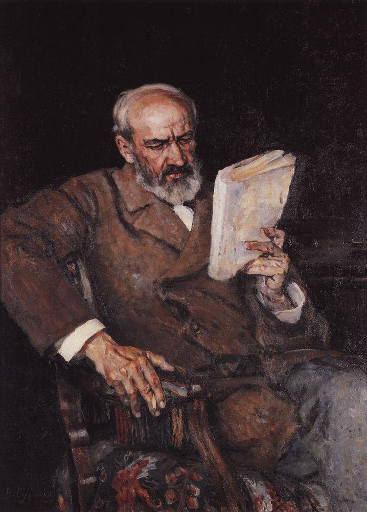 Портрет доктора А.Д.Езерского. 1910
