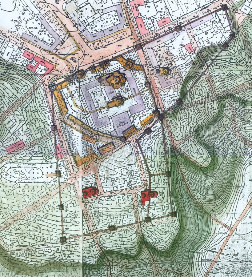 Воронеж план крепости