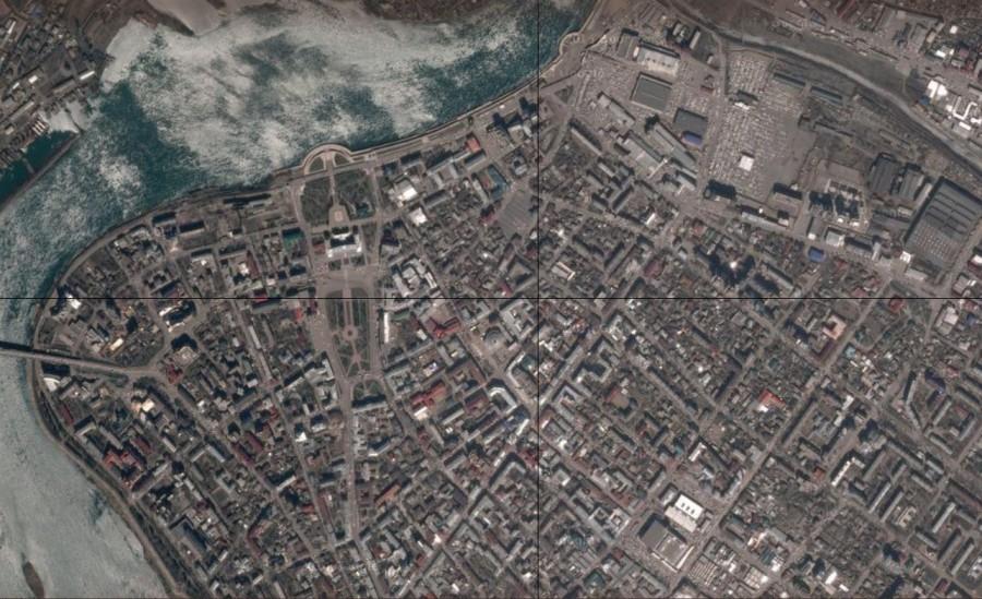 Иркутск спутник