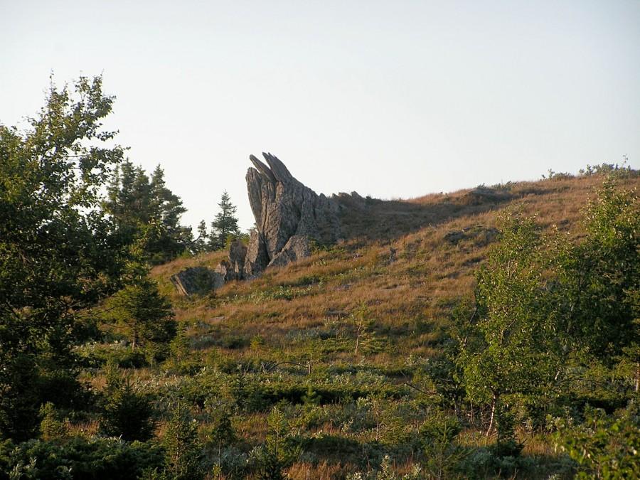 30-01 воткнутые камни