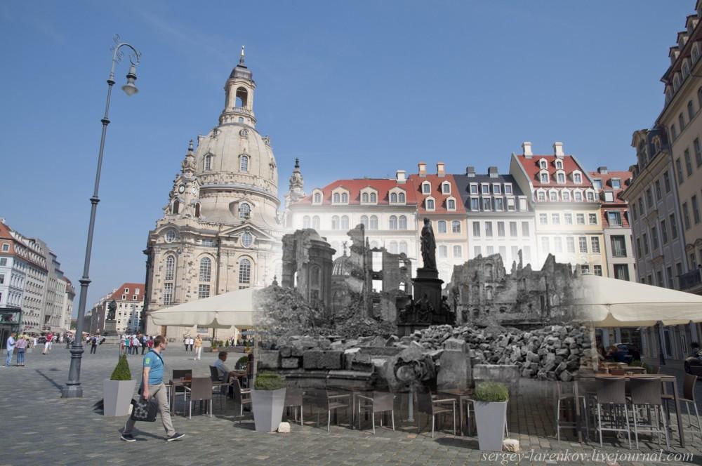 002.Дрезден 1945-2014 Памятник королю Саксонии Фридриху Августу II Monument to Frederick Augustus II