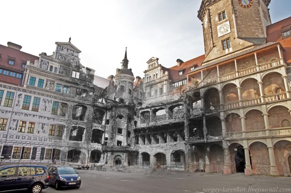 007.Дрезден 1945-2014 Королевский дворец Residenzschloss