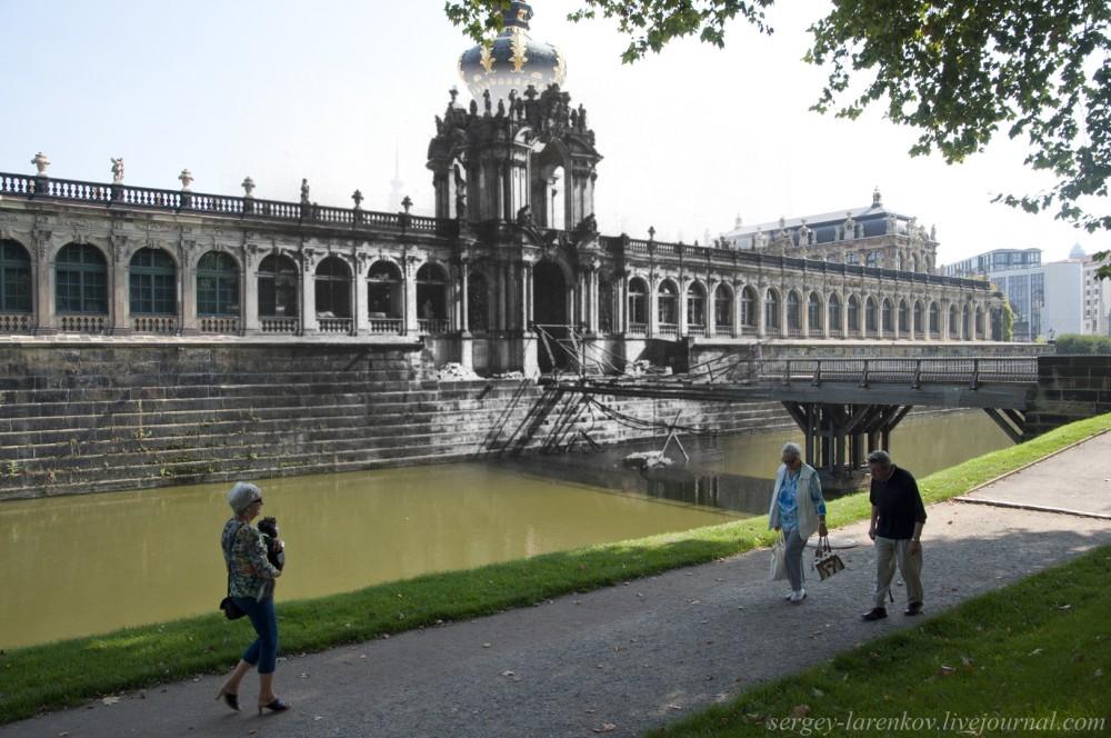 008.Дрезден 1945-2014 Мост Zwinger bridge
