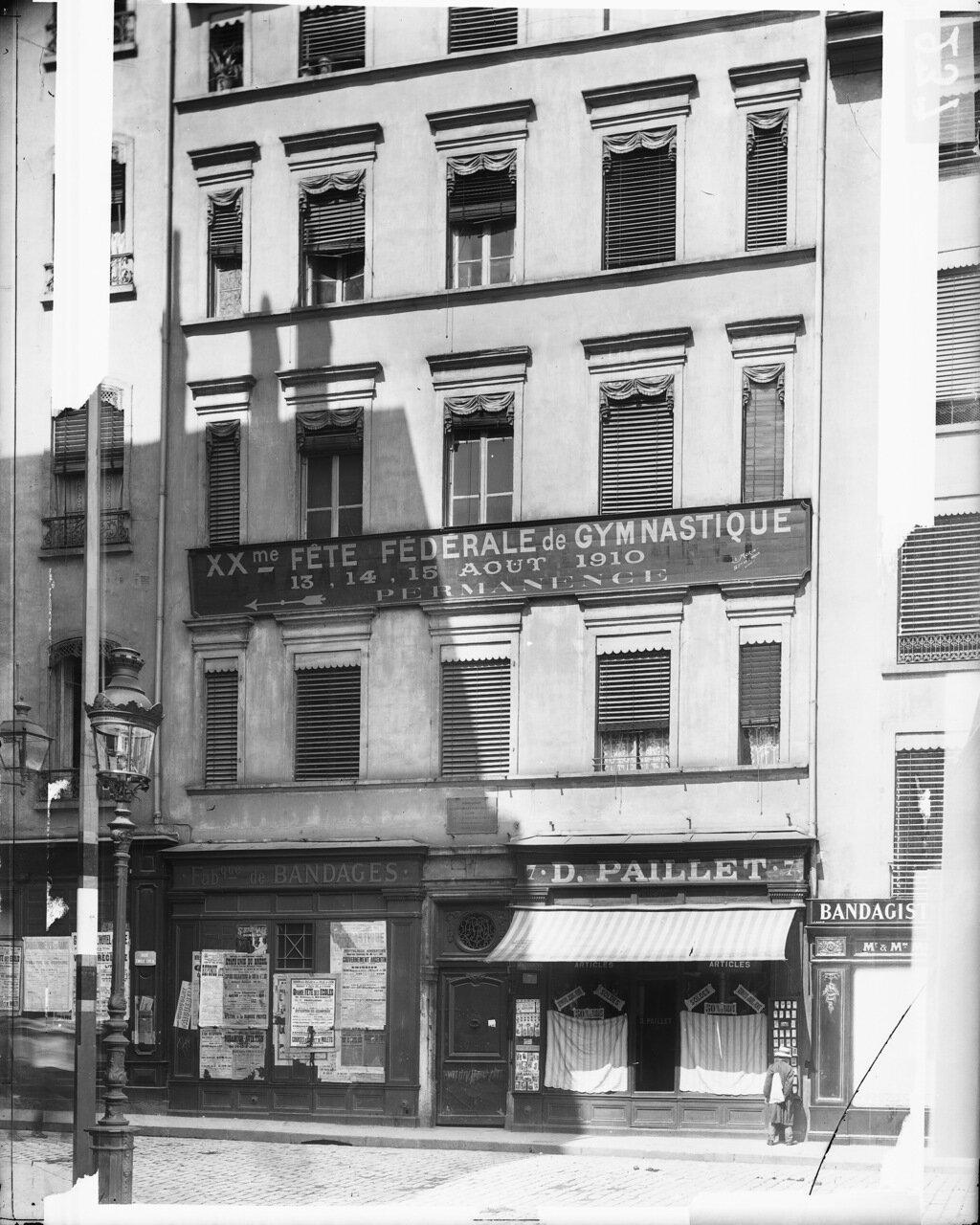 1910. Дворец якобинцев