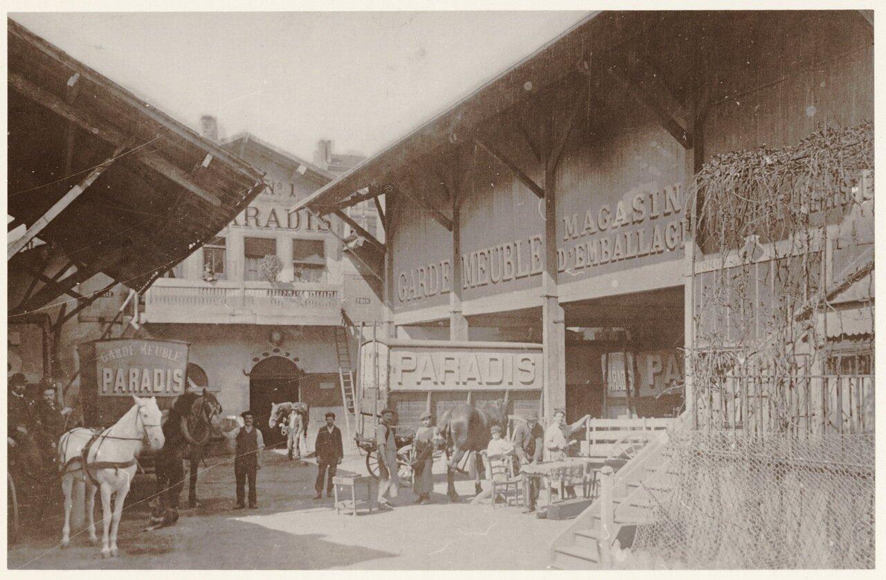 Лионские грузчики в начале ХХ века