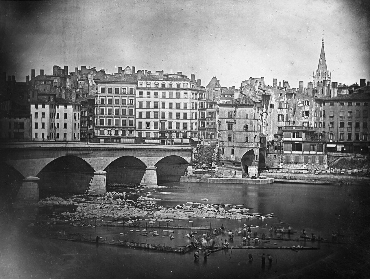 1870-е. Снос старого моста