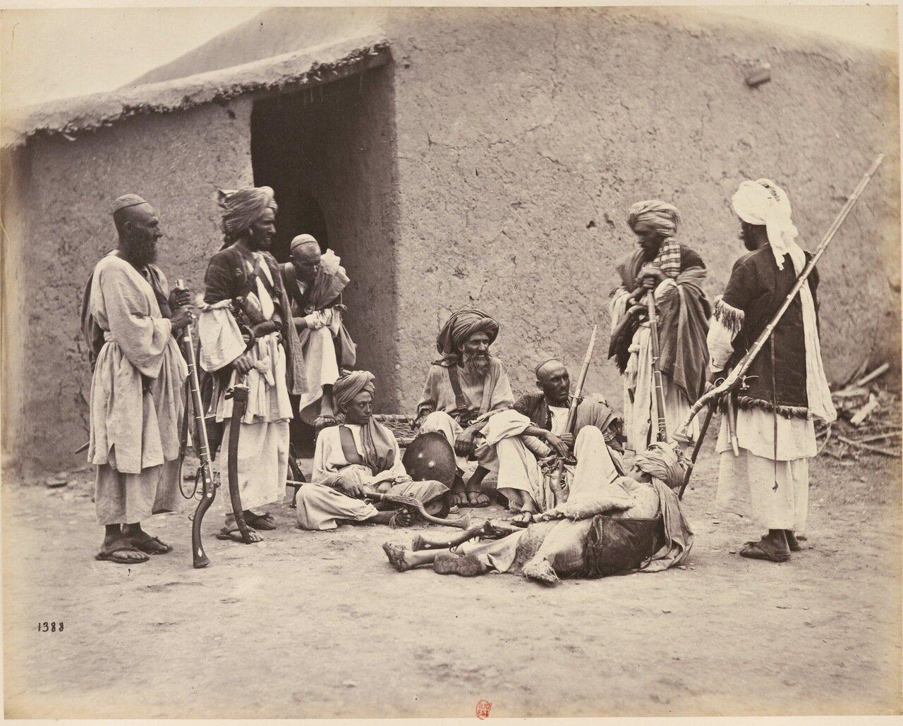 Жители Пешавара