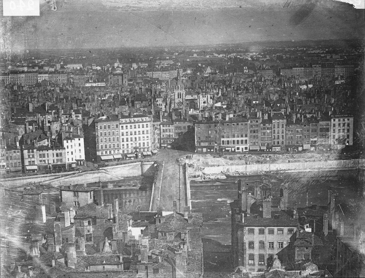 1870-е. Пон де Немур после сноса моста Пьера