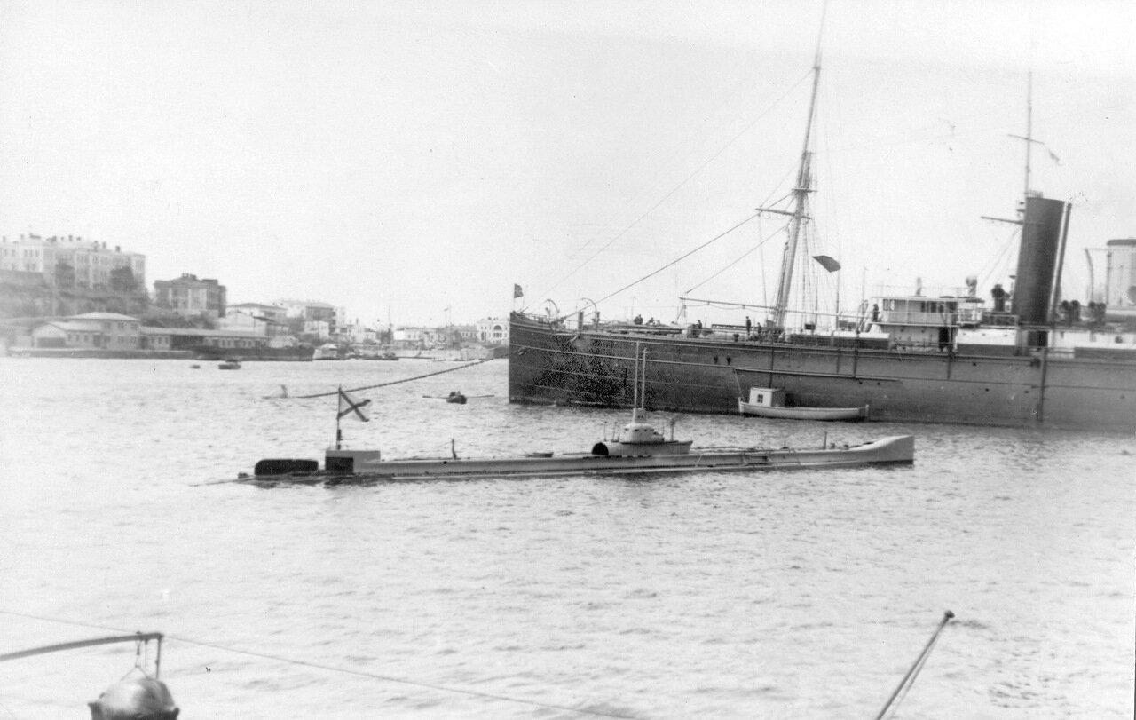 24. Подводная лодка «Камбала» в Южной бухте Севастополя